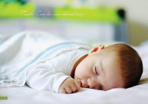 Nệm cao su em bé tendercare